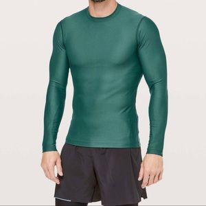 Lululemon Zoned In Long Sleeve Fitted Running